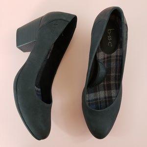 b.o.c. Isa Black Slip On Heel Pump Shoes